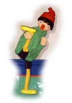 2008 Pinocchio mit Bein aus Holzmasse