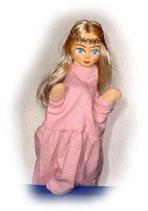 2201 Prinzessin aus Holzmasse (ohne Beine)