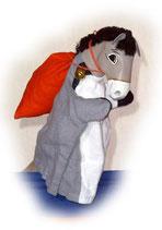 3311 Esel Benjamin (Kasperlepuppe aus Holzmasse)