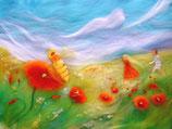 """Serie """"Blumen und Landschaften"""" - célébration de la nature"""
