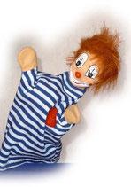 2234 Clown Charly-Boy aus Holzmasse (ohne Beine)