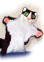 "3315 Katze ""Miauo"" (Kasperlepuppe aus Holzmasse)"
