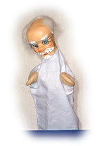 2217 Doktor Knoll aus Holzmasse (ohne Beine)