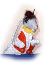 3316 Maus (Kasperlepuppe aus Holzmasse)