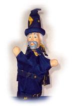 2224.1 Zauberer Mirakulix aus Holzmasse (ohne Beine)