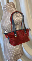 DER Shopper Mini mb rose rot/schwarz