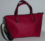 DER Shopper Mini mb pink/schwarz