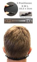 Maskenhalter / Maskenverlängerung schwarz
