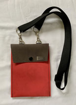 DAS Handy Bag mb rot/braun