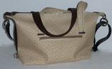 DER Shopper mb braun/beige
