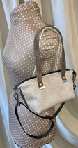 DER Shopper Mini mb Shaby beige/braun