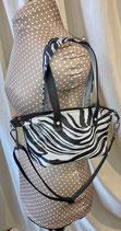 DER Shopper Mini mb Zebra/schwarz