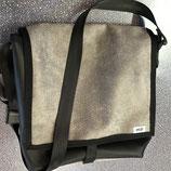 DAS Man Bag Maxi mb Shabby grau/schwarz