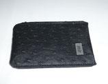 DAS iPhone Bag mb schwarz Straussenimitat