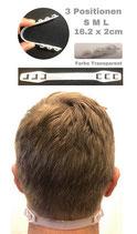 Maskenhalter / Maskenverlängerung weiss