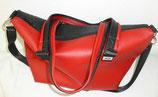 DER Maxi Shopper mb rot/schwarz