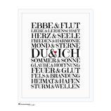 """""""Du & Ich"""" DIN A3 - Kunstdruck"""