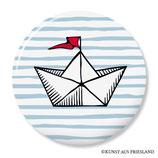 Papierboot, Button 38 mm