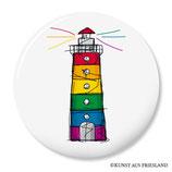 Leuchtturm, Pride, Button 38 mm