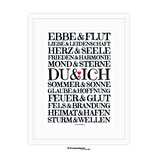 """""""Du & Ich"""" DIN A4 - Kunstdruck"""