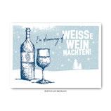 """""""Weinnachten"""" - Postkarte"""