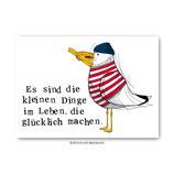 """""""Kleine Dinge"""" - Postkarte"""