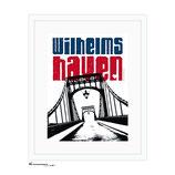 """""""Wilhelmshaven KW-Brücke"""", DIN A4 und DIN A1 - Kunstdruck"""