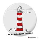 Küstenkind mit Leuchtturm, Button 25 mm