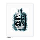 """""""Gin des Lebens"""" DIN A4 - Kunstdruck"""