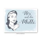 """""""Mutti"""" - Postkarte"""