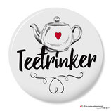 Teetrinker, Button 25 mm