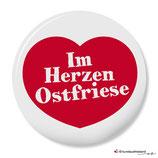 Im Herzen Ostfriese, Button 25 mm