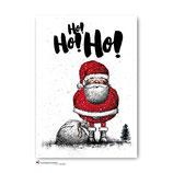 """""""Ho! Ho! Ho!"""" - Postkarte"""