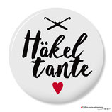 Häkeltante - Button 25 mm