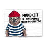 """""""Kernkompetenzen"""" - Postkarte"""