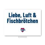 """""""Fischbrötchen"""" - Postkarte"""