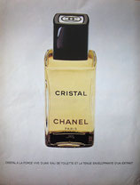 Chanel Cristal, 1975 (French perfume advert)