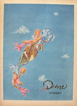 D'Orsay Divine, 1948 (French perfume advert)