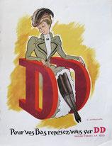 DD, nylons, 1950