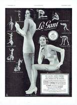 Le Gant, 1934 (French advert)