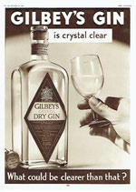 Gilbey's Gin, 1935