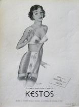 Kestos, lingerie, 1950