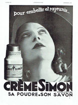 Creme Simon, 1932 (French advert)