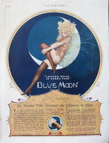 Blue Moon, silk stockings, 1926
