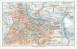 Map of Amsterdam, ca. 1924