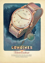 Longines Watches, 1948 (Swiss advert)