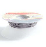 Satinband 1 mm Grau