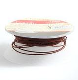 Satinband 1 mm Schokobraun