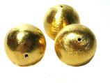 Kugel aus 925-Silber vergoldet ca. 20mm