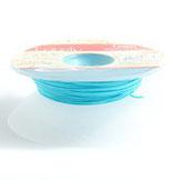 Satinband 1 mm Aquamarinblau
